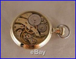 101 YEARS OLD HAMILTON 950 23j SALESMAN DISPLAY CASE 16s RAILROAD POCKET WATCH