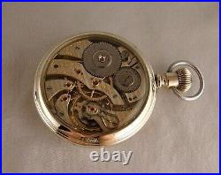 103 YEARS OLD HAMILTON 950 23j SALESMAN DISPLAY CASE 16s RAILROAD POCKET WATCH