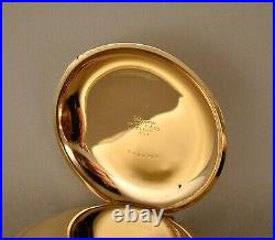 117 YEARS OLD ELGIN 21j 14k GOLD FILLED HUNTER CASE 18s GREAT POCKET WATCH