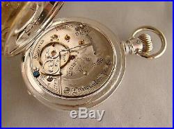 119 YEARS OLD HAMILTON 937 17j COIN SILVER HUNTER CASE 18s GREAT POCKET WATCH