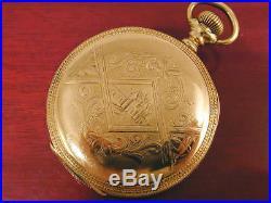 16s 15J Waltham Hunter Case Pocket Watch