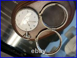 1815 Verge Fusee pair cased pocket watch solid silver good condition and working