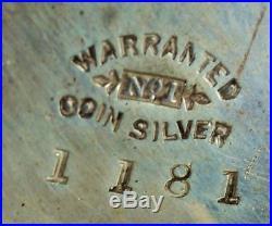 1859 Pre Civil War Waltham 1857 with Gold balance and original case