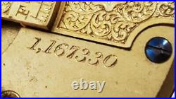 1877 WALTHAM W. W. Co 18S 15J ca1878 Sterling Silver Hunter case Lever set