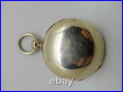 1878 Elgin Open Face Pocket Watch, With Silveroid Case, Hunter Closure #pw11
