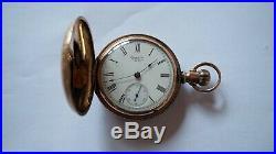 1890 Waltham P. S. Bartlett 18s 15j Model 1883 Hunter Case Works B590
