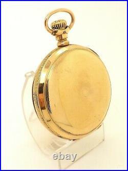 1890's Paillard's Patent Non Magnetic Watch Co. 18s Hunter Case Pocket Watch