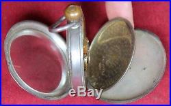 1892 Waltham PS Bartlett 1883 18s 17j Pocket Watch Coin Silver Case RUNS