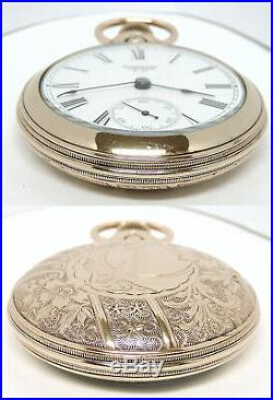 1896 Waltham 18 Size, Seven Jewels, Beautiful Case, Just Restored. Outstanding