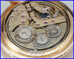 18k Gold Renaissance case Grande Sonnerie ¼ repeater 1870 Lattes Pocket watch