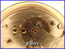 1914 Illinois Watch Co. Pocket Watch -Gold Filled Case Running