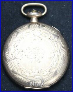 1917 Waltham Grade 620 16s 15j Pocket Watch with FANCY Hunter Case Parts/Repair