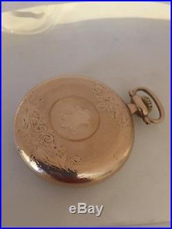 1925 South Bend 227 21J 16S Panama YGF Case Pocket Watch BIN $195