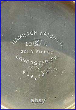 1946 Hamilton 950B, Model 6,16s, 23J, Railroad Grade in Gorgeous 10k GF Case