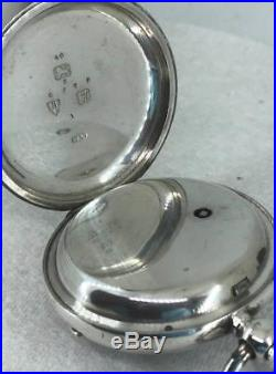 A Working English Silver Case Fusee William Brough of Stromness Pocket Watch