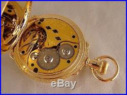 ANTIQUE NON-MAGNETIC 16j 14k GOLD FILLED HUNTER CASE BOX HINGE 16s POCKET WATCH