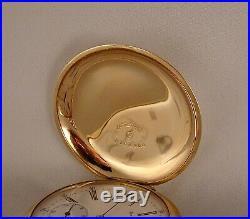 ANTIQUE NON-MAGNETIC 16j 14k GOLD FILLED HUNTER CASE SIZE 16s GREAT POCKET WATCH