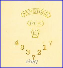 American Waltham 14k Solid Yellow Gold Case 17j Circa 1908