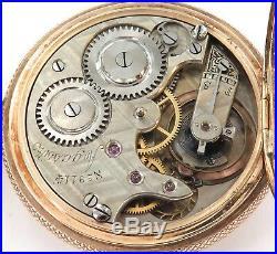 An 18k Rose Gold / Stunning Case / Antique Agassiz Mid-size Pocket Watch