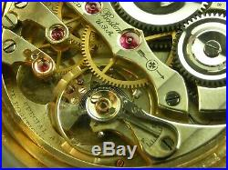 Antique 16s E. Howard 23 jewel Rail Road series 0 pocket watch Gold filled case