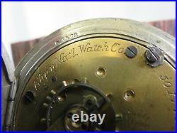 Antique 1894 Grade 82 Model 3 Elgin 18s 15j SILVERODE CASE POCKET WATCH Runs PW1