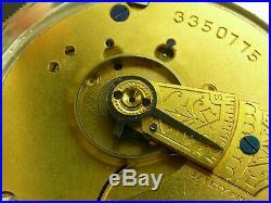 Antique 18s Waltham beautiful coin silver hunter case pocket watch. Runs! 1888
