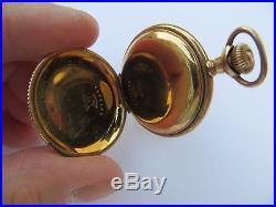 Antique 1900's Dueber Special Case Gold Filled Pocket Watch for locket or Watch