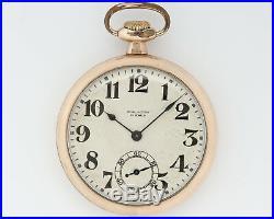Antique 1918 Illinois 16s 21j Adjusted Burlington W. Co. In Burlington Case