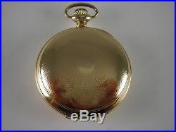 Antique Ball Hamilton 18s, 999H pocket watch. Ball Gold filled case. Made 1911