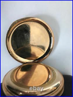 Antique E. Howard Boston Triple Hinge Open Face Case 17 Jewel Pocket Watch