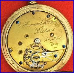 Antique E. Howard & Co. Boston Pocket Watch Case Essex Superior. (BI#MK/191221)