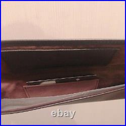 Authentic PATEK PHILIPPE Watch Brown Leather Travel Pouch Case VIP Limited New