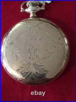 Ball Pocket Watch, 16 S, 23 J, 999N, In A Philadelphia 20 Yr. G. F. Case, R. R