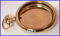 Beautiful 18s Gold Filled Pocket Watch Case