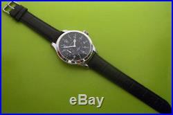 Big Military LONGINES Swiss Wristwatch in Steel Case Aviator Pilots WW2