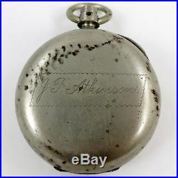 C. 1881 ROCKFORD Antique POCKET WATCH 15j 18s #143291 Mod 5 BUCKEYE CASE Key Wind