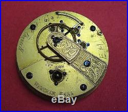 Coin Silver18sKWWatch CaseEngraved Grand Army of Republic Decoration