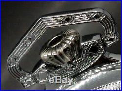 Display SP Salesman 18s Pocket Watch CASE for Railroad, Lever Set, or Stem Set