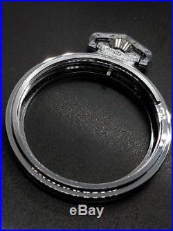 Display Salesman 18s SP Pocket Watch CASE for Railroad, Lever Set, or Stem Set