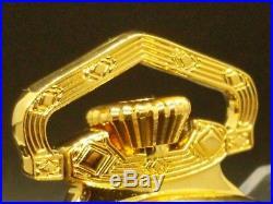 Display Salesman Pocket Watch 18s Gold CASE for Railroad, Lever Set, or Stem Set