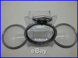 Display Salesman Size 16s Pocket Watch CASE for Railroad, Lever Set, or Stem Set