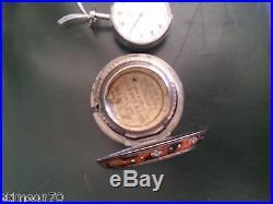 Edward Prior. A silver key wind triple case pocket watch. Great condition