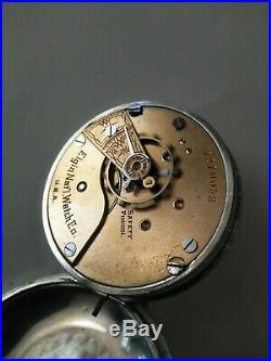 Elgin 121 year old 18S. 7 jewels model 4 grade 96 class 6 (1898) nickel case