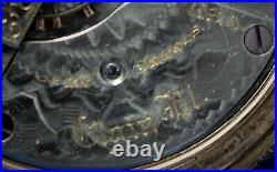 Elgin 149 21j 14k Gold Fill Hunting Cased Pocket Watch Railroad Approved