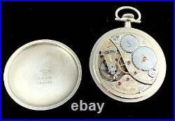 Elgin 18 S 19J BW Raymond RR Grade Pocket watch Railroad Case Extra Fine