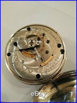 Elgin 18S. (122 years old) 11 jewels model 4 grade 88 class 5, nickel case