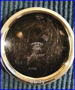 Elgin 18s. Great fancy dial 17 jewels (1909) gold filled case restored