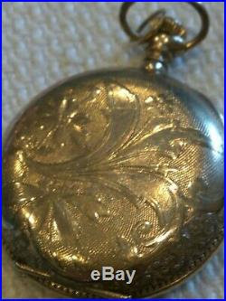 Elgin Antique Pocket Watch. RARE 1904. Gold Plated Case. Very Good Condition