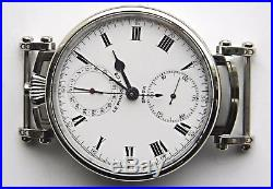 Engraved Wristwatch Cases With Top Sapphire Crystal For Pocket Watch Movements