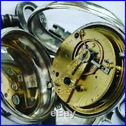 Excellent silver pair cased pocket watch. Hallmarked 1817. Great working order